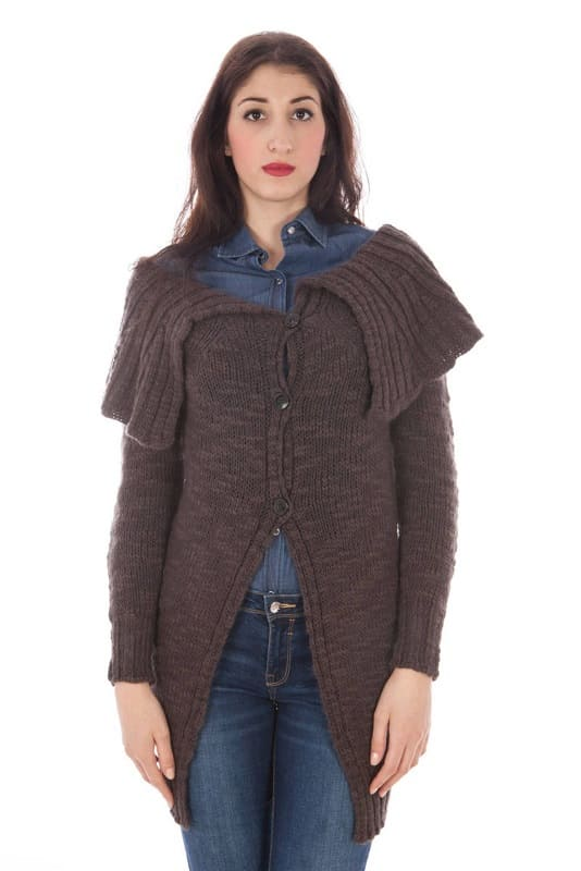 Pull Fred Perry cardigan brun taille S