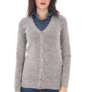 Pull Fred Perry cardigan gris taille S
